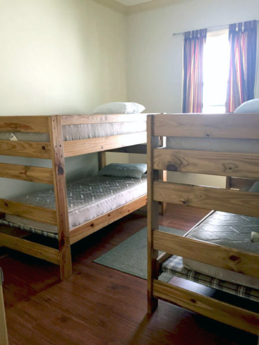 Volunteer House Bunk Beds